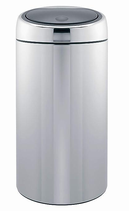 Amazon.com: Brabantia Touch Bin De Luxe, Brilliant Steel ...