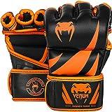 Venum Challenger MMA Gloves, Medium, Black/Neo Orange