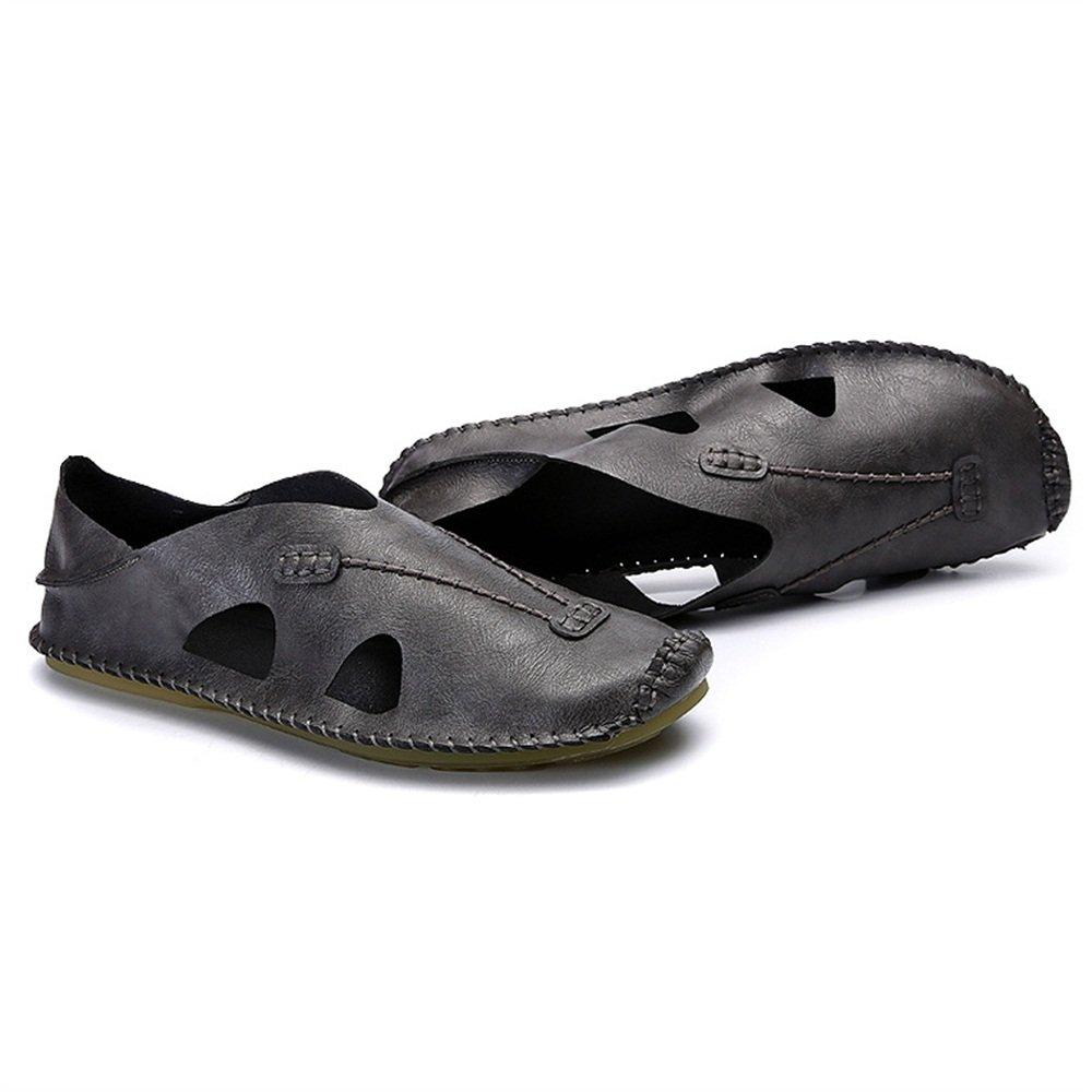 ZHANGRONG- Herren Walking handgefertigt auf Outdoor Indoor Rutschfeste Schuhe, Farben  A, B, C (Farbe   C, größe   EU41 UK7.5-8 CN42)