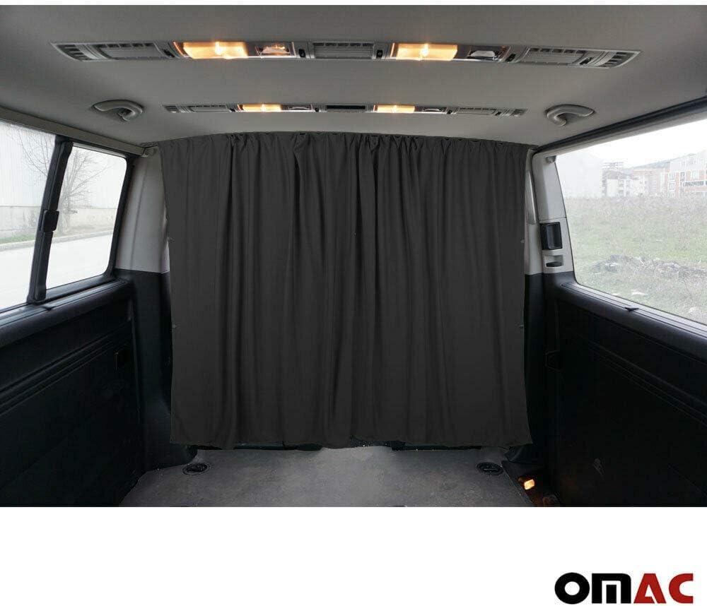 Grau für Kleinbusse /& Van Zamboo 2x Sonnenschutz Vorhang für Seitenscheiben