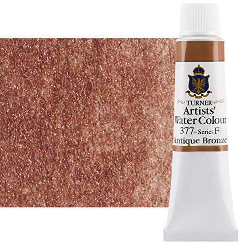 - Turner Concentrated Professional Artists' Watercolor Paint 15ml Tube - Antique Bronze