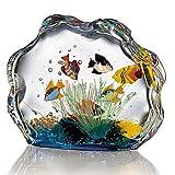 Smithsonian Murano Glass Aquarium