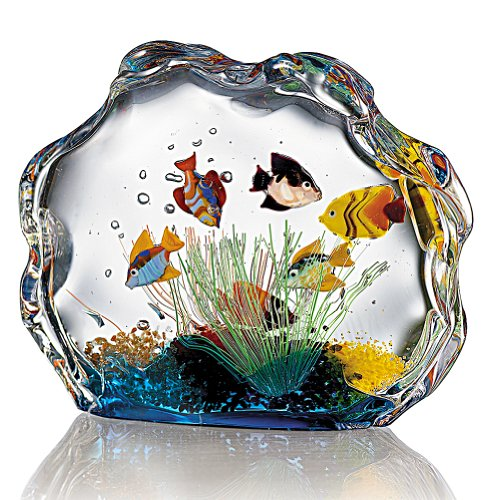 Smithsonian Murano Glass Aquarium by Smithsonian