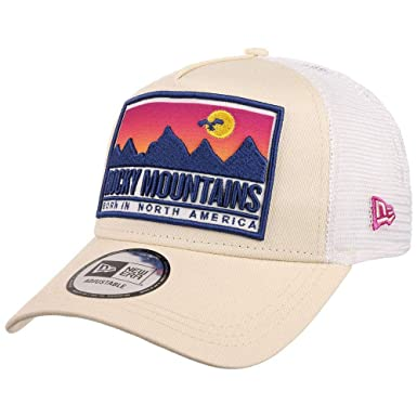 a2c9100a6 New Era Casquette Trucker A-Frame Rocky Mountains State Patch Pierre ...
