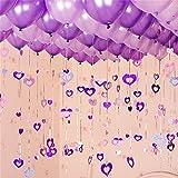 100 Pack Romantic Purple Ballo