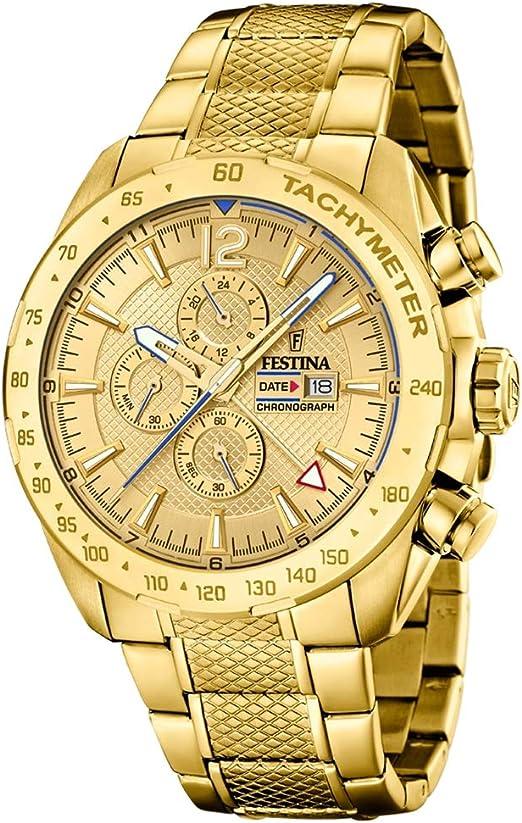 Amazon.com: Festina F20441/1 - Reloj cronógrafo de cuarzo ...