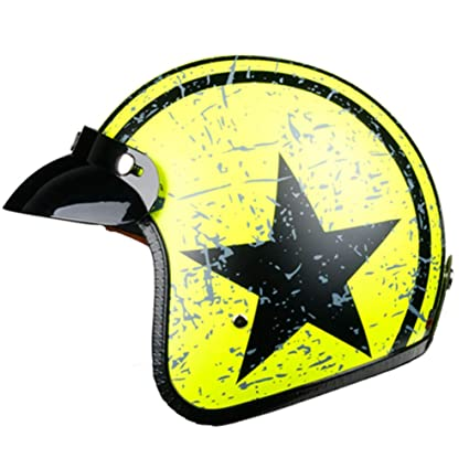 Amazon.es: Halley Motocicleta Casco anticolisión luz de Malla de ...