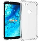 Clorox Google Pixel 3a Silicon Boom Transparent Soft Rubber Back Cover for Google Pixel 3a (Boom TP)