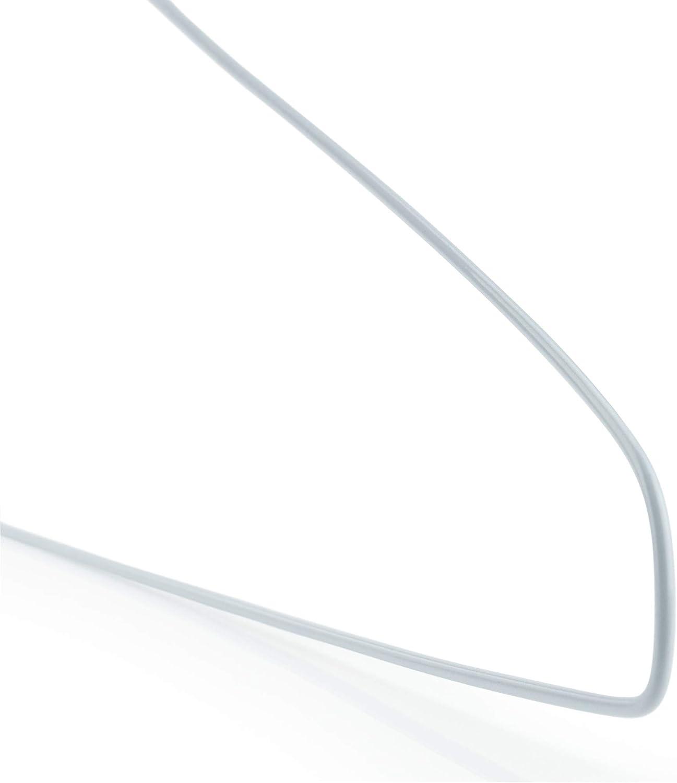 Hangerworld 300 Perchas 40cm de Metal Ahorra Espacio Tintorer/ías Ideal para Camisas y Pantalones