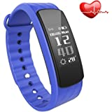 Fitness Tracker with Heart Rate Monitor,Wireless Smart Bracelet,IP67 Waterproof smart watch with step tracker,Pedometer,Sleep Tracker,Calorie counter