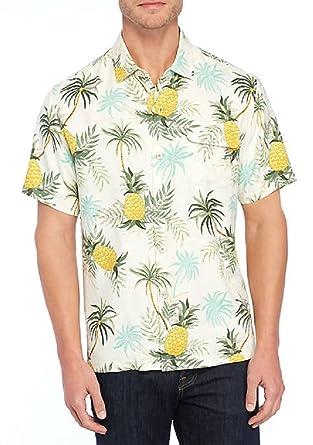 9601c759b Tommy Bahama Camp Colada Silk Camp Shirt at Amazon Men's Clothing store: