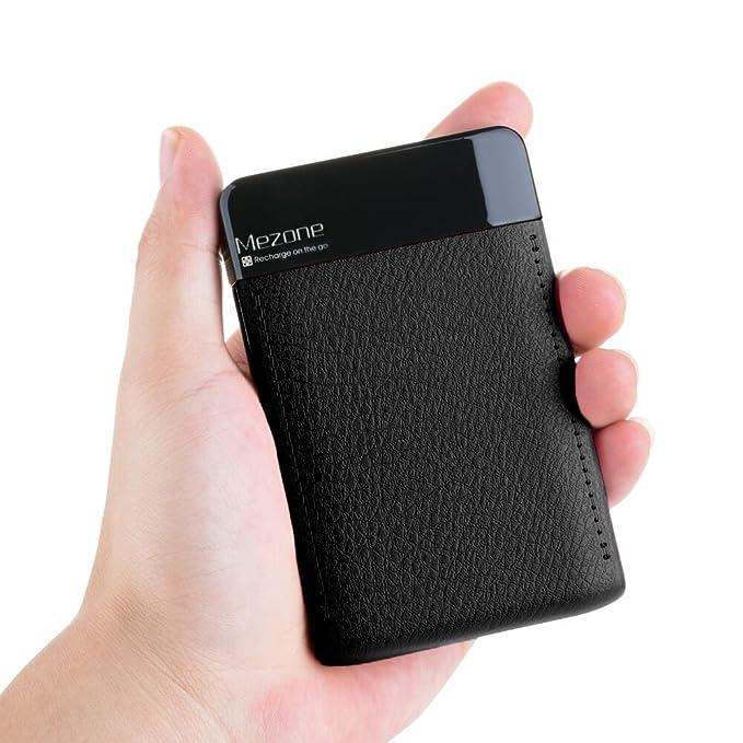 Power Bank mezone 6000 mAh Portable Cargador de batería 2 ...