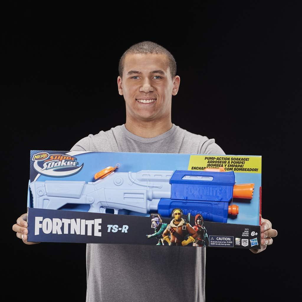 Pistola de agua SuperSoaker Fortnite TS-R por sólo 14,50€ (precio al tramitar pedido)