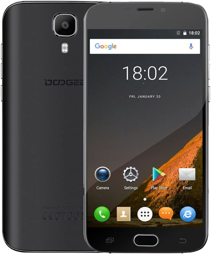 DOOGEE X9 Pro 4 G LTE Smartphone, 5.5 pulgadas?2.5d HD de la ...