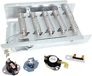 Performance 279838 & 3977767 & 3392519&3387134& 3977393 All 5 in 1 Dryer Heating Element Kit for Whirlpool & Kenmore Dryer