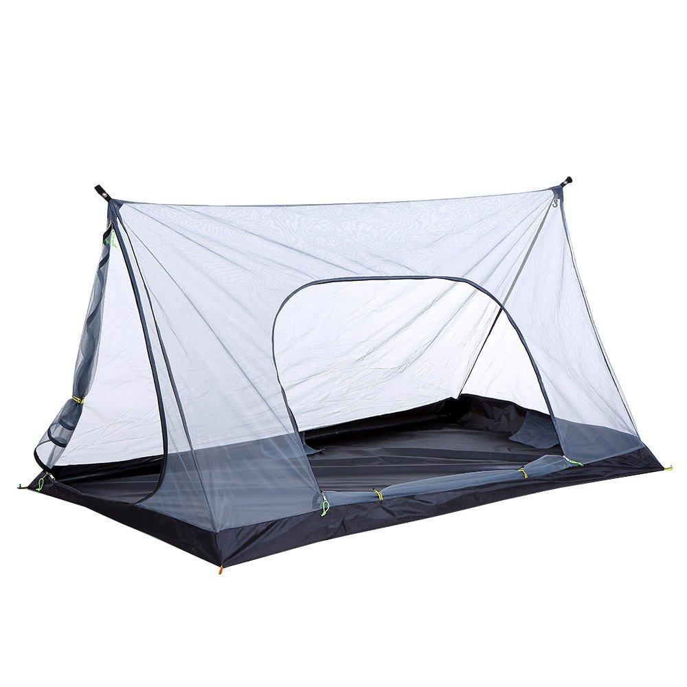survivalist Ultralight 1-2 Person Mesh Tent Shelter Pyramid Mosquito net Tent Pyramid Breeze Tent Breeze Mesh Tent Breathable Bug Shelter