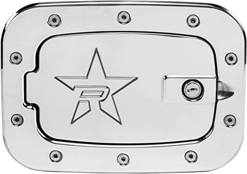 RBP RBP-6090PL-RX2 Polished Aluminum Locking Fuel Door