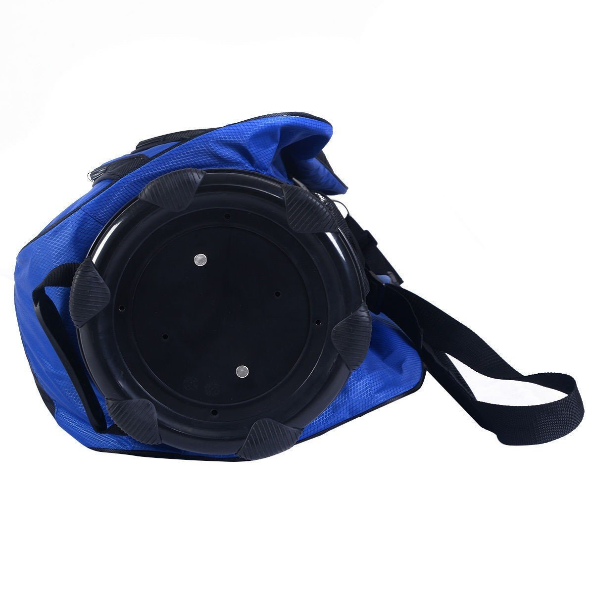 2016 Golf Carry Bag 14 Way Divider Lightweight w/Carry Belt Blk&Blue by Apontus