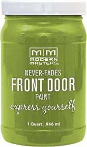 Modern Masters 275275 Front Door Paint, 1 Quart, Satin Fortunate