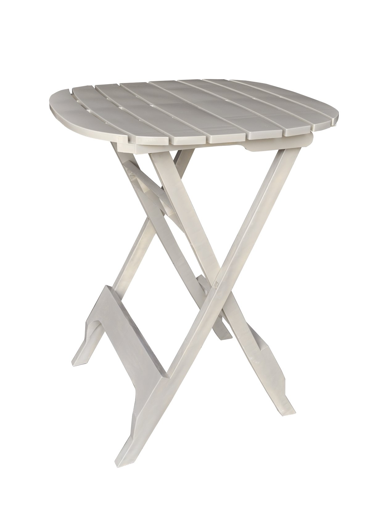 Adams Manufacturing 8560-23-3701 Quik-Fold Bistro Table, 40-Inch, Desert Clay