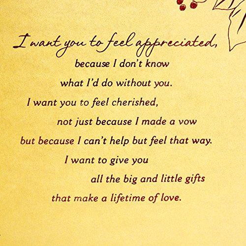 Hallmark Mahogany Christmas Greeting Card for Wife (I Want to Give You) Photo #8