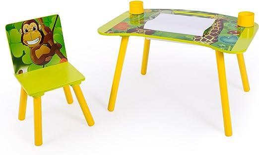 Homestyle4u niños del Estudio Deberes Mesa de Escritura con diseño ...