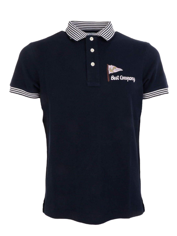 S BEST COMPANY Luxury mode Homme 6920450800 Bleu Polo   Printemps été 19