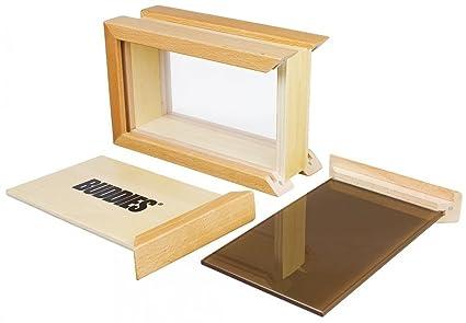 Buddies Medium Sifter Kief Pollen Wooden Box