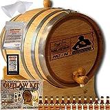 Personalized Outlaw Kit (Orange Brandy) ''MADE BY'' American Oak Barrel - Design 077: Dad's Poker Reserve - Master Distiller Series (10 Liter)