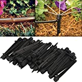 JD Million shop 50pcs Flow Irrigation Drippers 360 Degree Emitter Drip System Emitter Micro FLow Dripper Drip Head Garden Lawn Irrigation