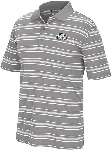 Sport Your Gear NCAA Mens Prime Athletic Logo Micro Pique Polo with Self Collar