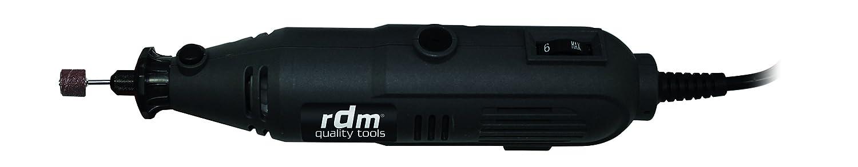 rDM Quality Tools 70016 Mini meuleuse, 135 W, 240 V, noir 135W 240V HidalgoŽs Group