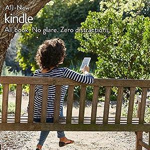 """Kindle (8th Gen), 6"""" Display, 4 GB, Wi-Fi (White)"""