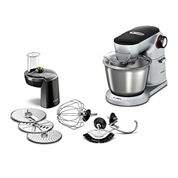 Amazon.de: Bosch Optimum MUM9D33S11 Küchenmaschine (1300 Watt ...