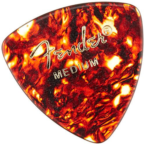 Fender 346 Shape Classic Celluloid Picks  for electric guita