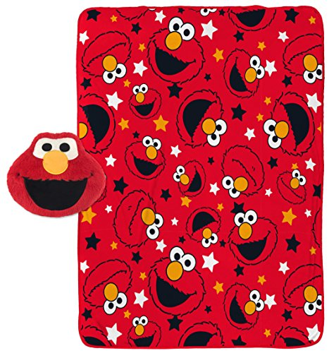 Jay Franco Sesame Street Elmo Plush Pillow and 40