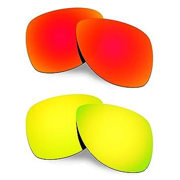 HKUCO Plus Mens Replacement Lenses For Oakley Dispatch 2-2 pair GnZysdB1