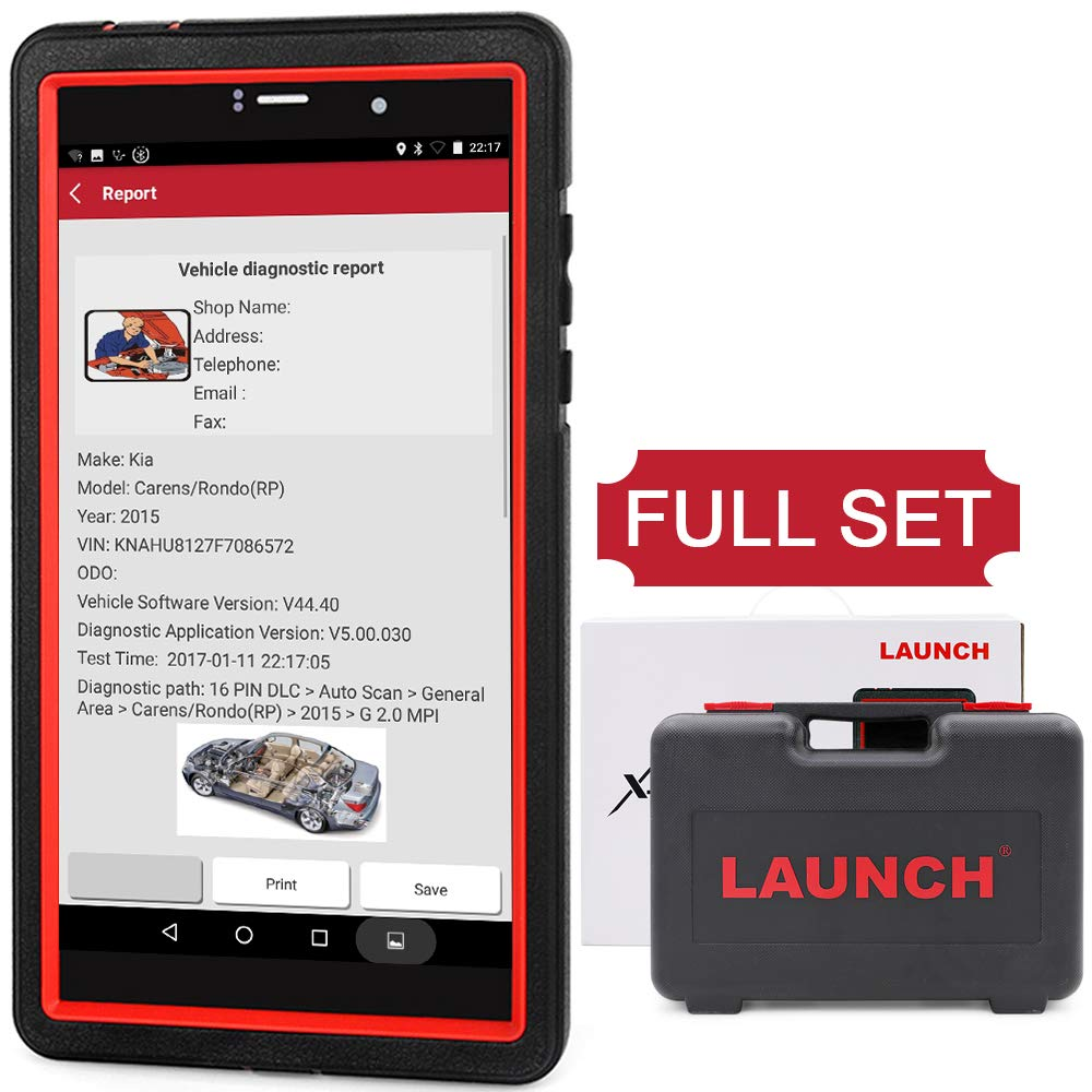 LAUNCH X431 Pro Mini Wifi/Bluetooth Bi-Directional OBD OBD2 Scan Tool Actuation Test, ECU Coding, Key Fob Program,Reset Functions, Free Update 2 YRs, ALL System OBD2 Diagnostic Scanner by LAUNCH (Image #1)