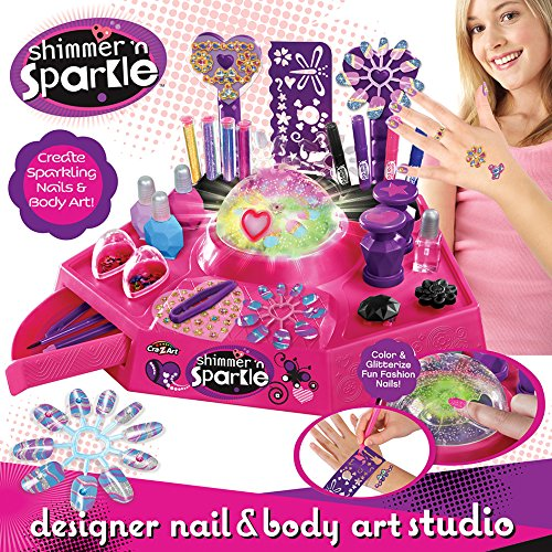 Nail Art Studio: Cra Z Art Shimmer N' Sparkle Nail And Tattoo Studio