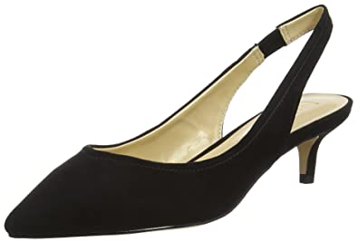 Lotus Damen Misty Slingback Pumps, Black (Black Microfibre), 40 EU