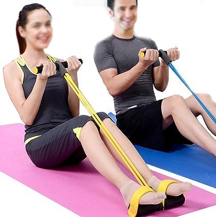 Amazon.com: Yonger - Cuerda elástica para ejercicios de ...
