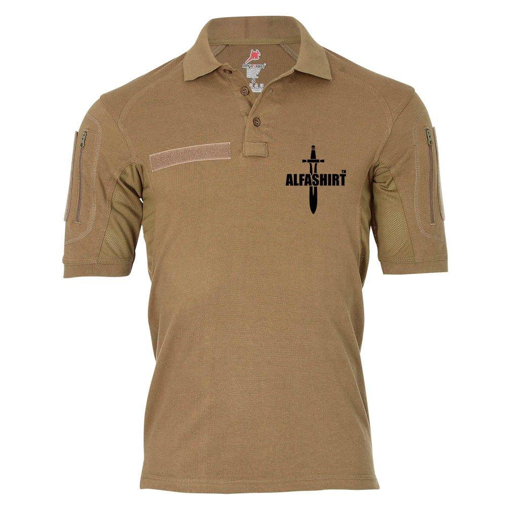 Copytec actical Poloshirt Alfa - ALFASHIRT TM Schwert Army Infidel Bundeswehr Textil Marke Deutschland Fan Promo  19008