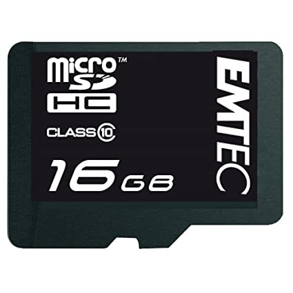 Emtec EKMSDM16G150XHC - Tarjeta microSD de 16 GB, Clase 10