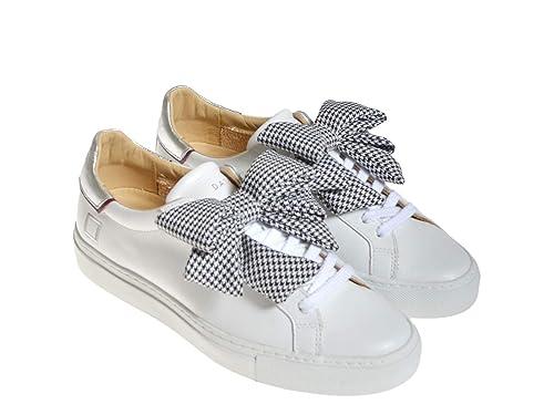 711b4d5943 D.A.T.E. Sneakers Fiocco Fondo Cassetta: Amazon.it: Scarpe e borse