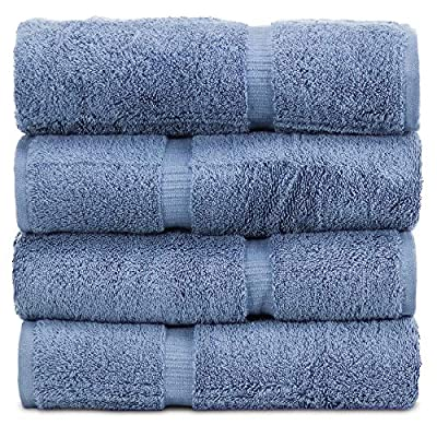 Towel Bazaar 100% Turkish Cotton 27 x 54 Inch, Multi-Purpose, Lightweight, Durable, Highly Absorbent Hotel Quality, Machine Washable Sport and Workout Towels