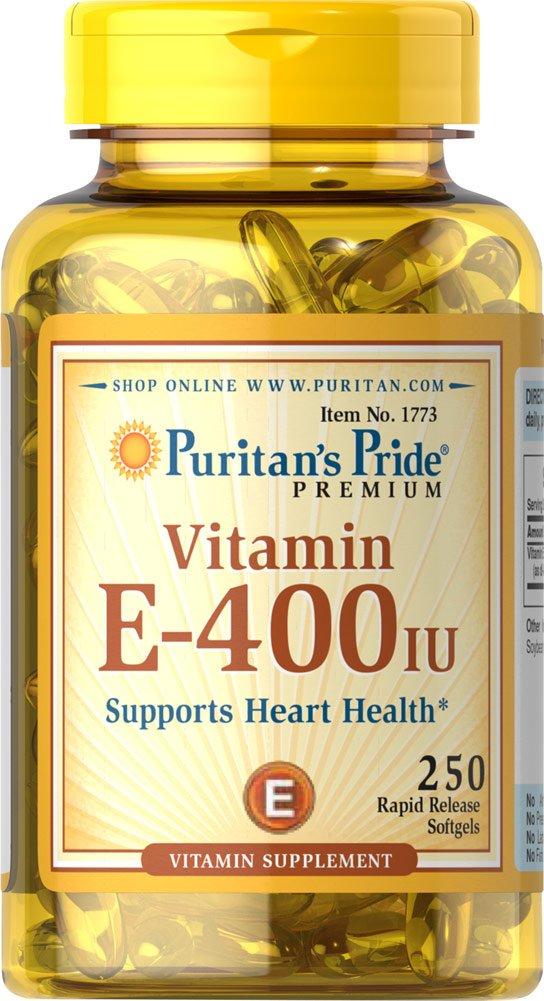 ビタミンE-400IU250錠 Vitamin E-400IU250Softgels B0076VT3CC