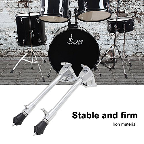 Drum Spurs, Adjustable Bass Drum Stand Legs Anti-rust Spurs 1 Pair by Dilwe (Image #1)