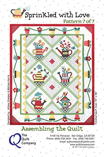 Sprinkled With Love Quilt Pattern & Accessory Pack by The Quilt Company 70