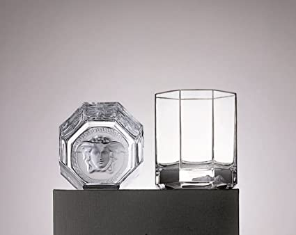 Versace Medusa Lumiere Whisky Vaso par por Rosenthal China