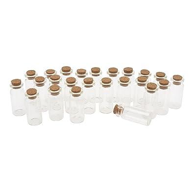 24 tubes en verre à bouchon liège, Gros acheteurs